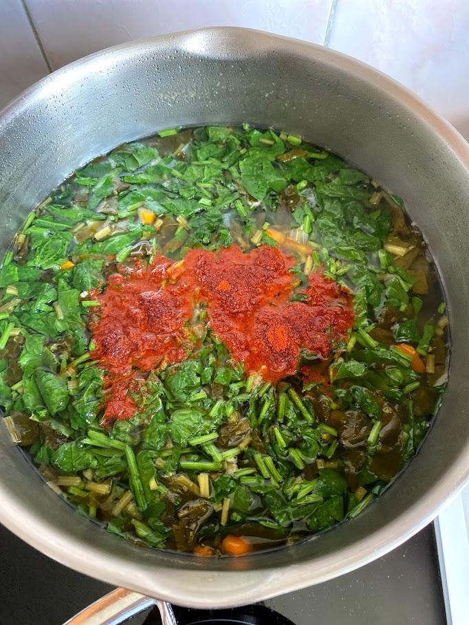 Фото рецепта - Щавелевый суп - шаг 10