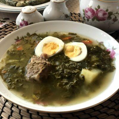 Щавелевый суп - рецепт с фото