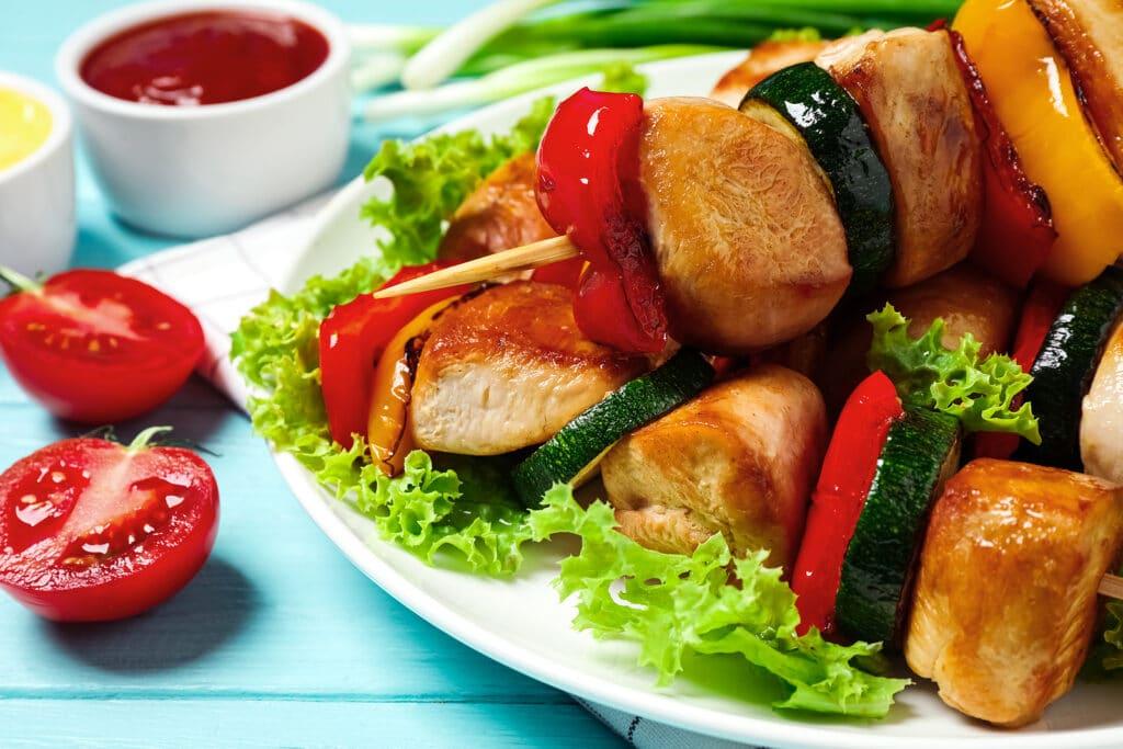 Фото рецепта - Куриный шашлык в соусе - шаг 8