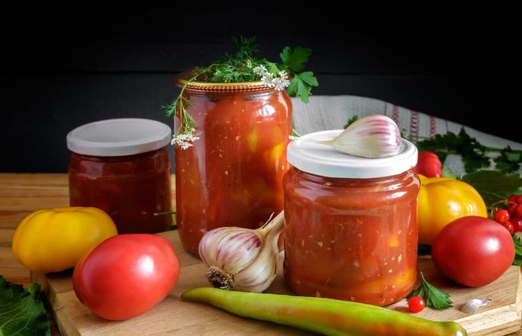 Фото рецепта - Лечо из перца и помидоров - шаг 4