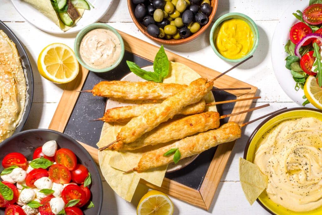 Фото рецепта - Люля-кебаб из куриного филе - шаг 7