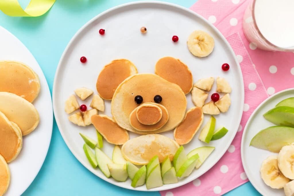 Фото рецепта - Оладьи для деток - шаг 9