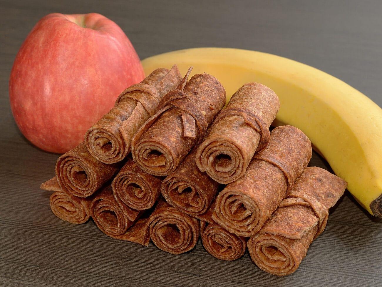 Пастила из бананов и яблок