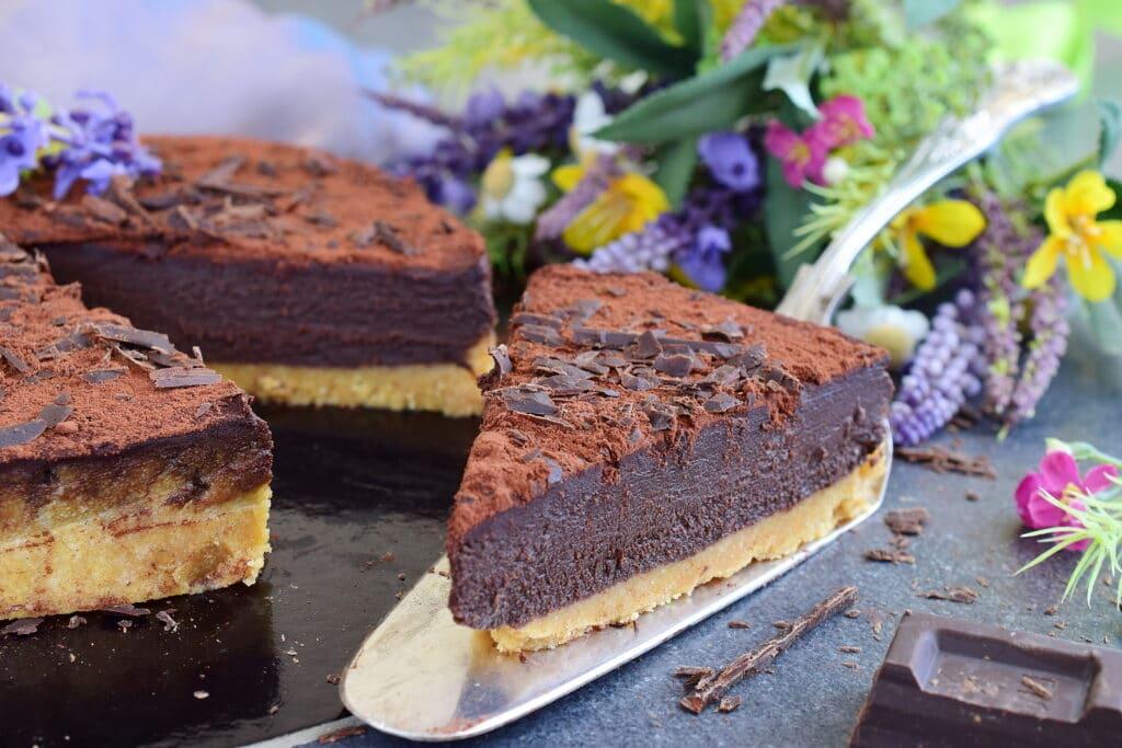 Фото рецепта - Самый быстрый шоколадный торт - шаг 3