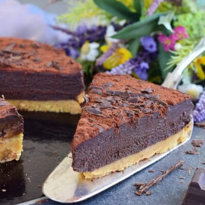 Самый быстрый шоколадный торт