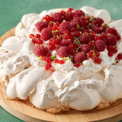 Торт-безе Павлова - рецепт с фото
