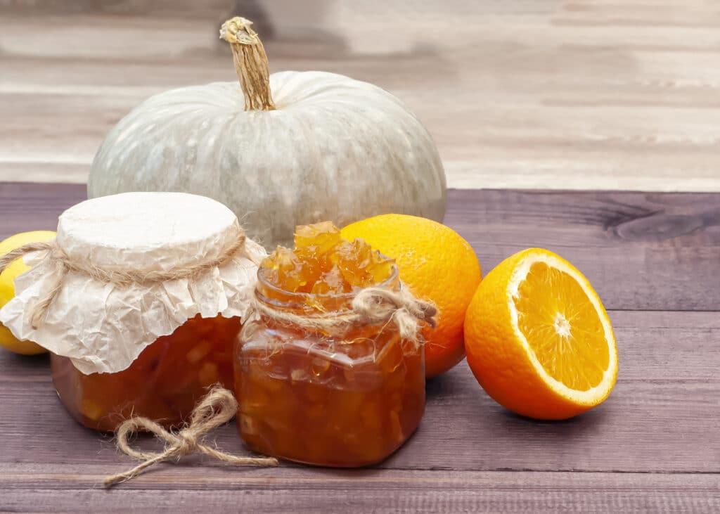Фото рецепта - Варенье из апельсинов и тыквы - шаг 4