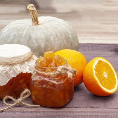 Варенье из апельсинов и тыквы