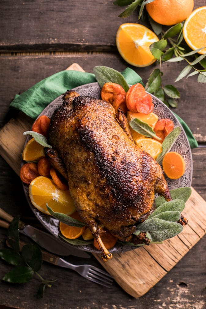 Фото рецепта - Запечённая утка в цитрусовом маринаде - шаг 5