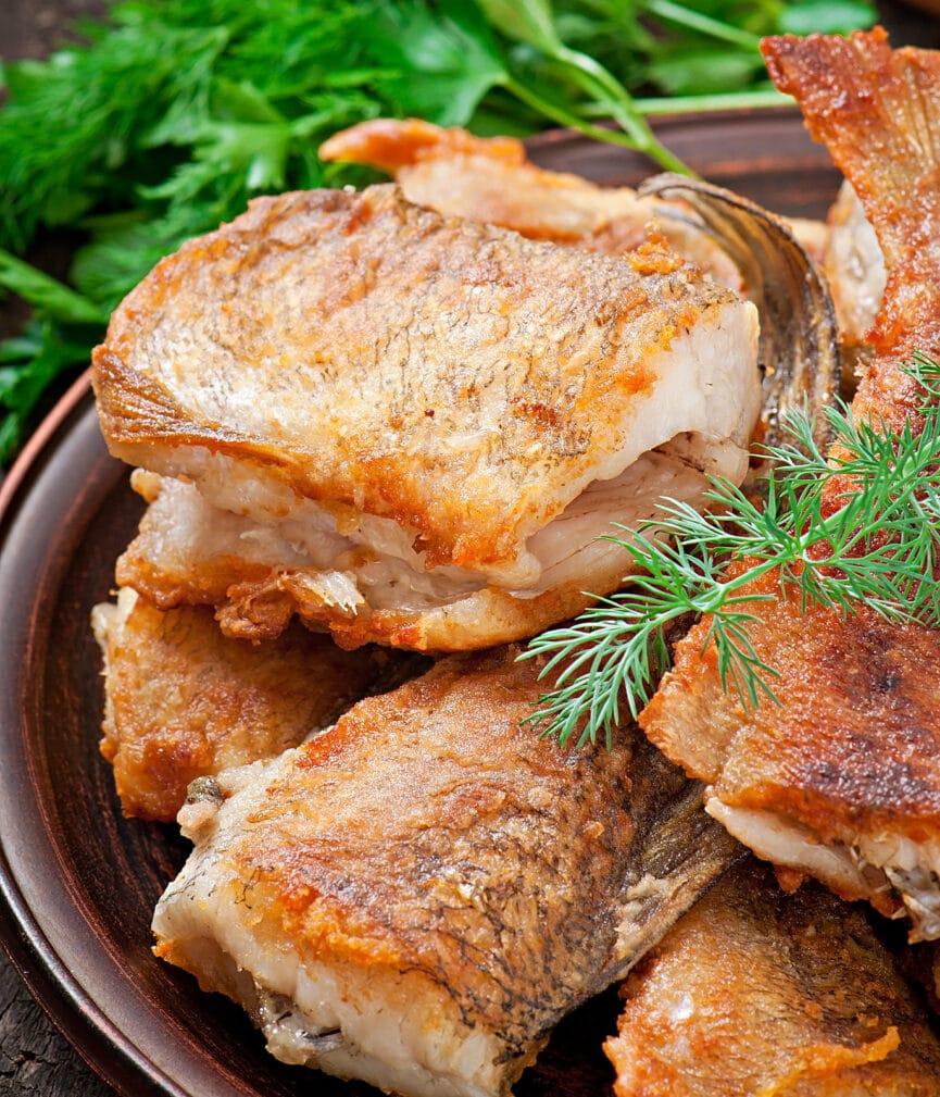 Фото рецепта - Жареная рыба в мучной панировке - шаг 5