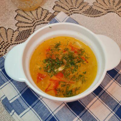 Куриный суп с сырными шариками - рецепт с фото