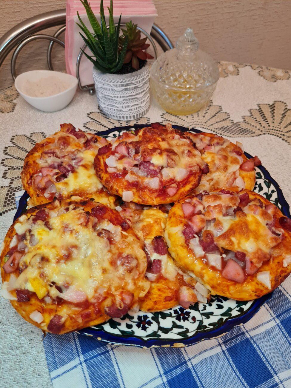 Мини-пиццы, как в школьной столовой
