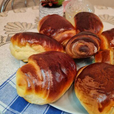 Ванильные булочки в духовке - рецепт с фото