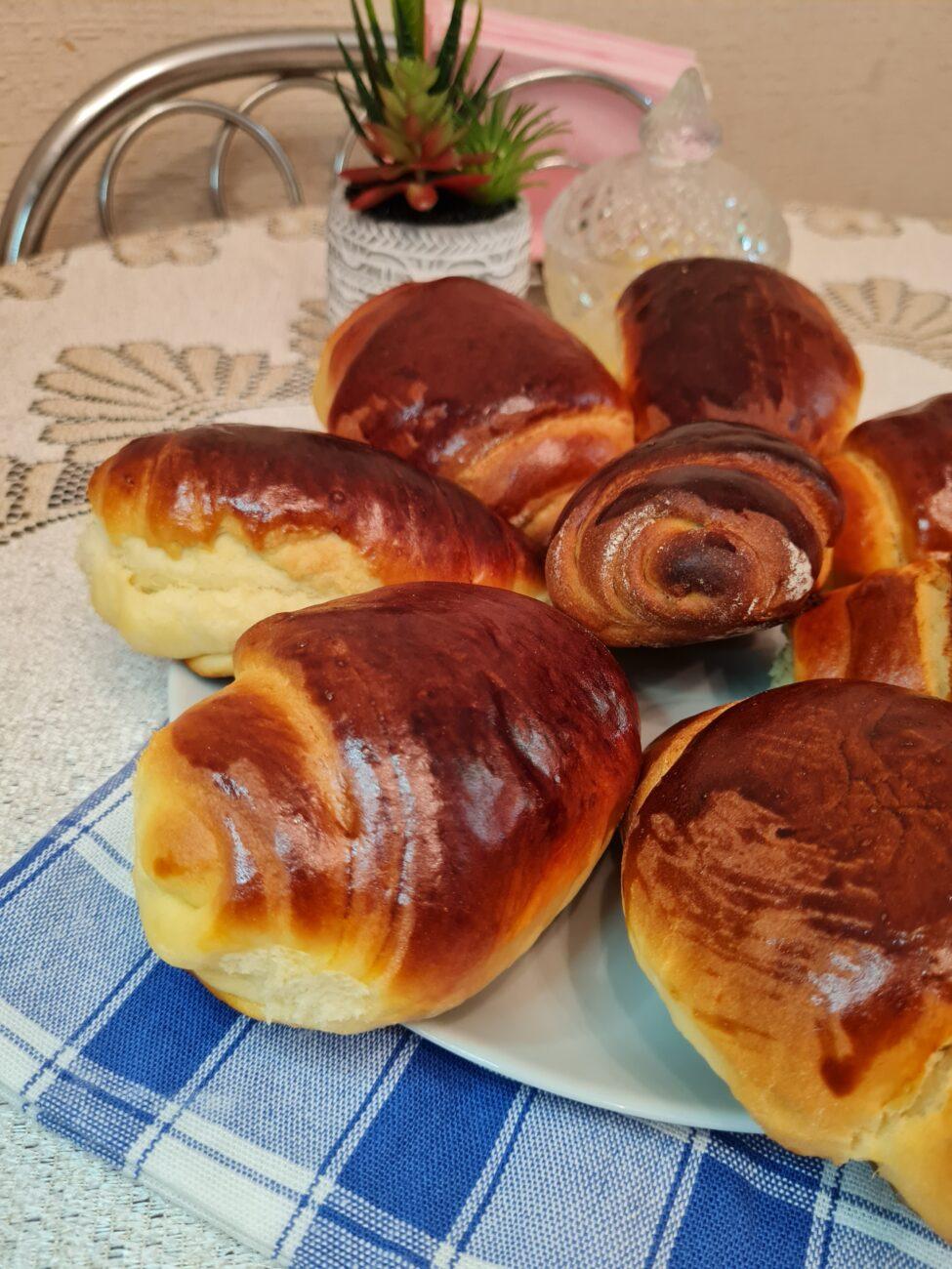 Ванильные булочки в духовке