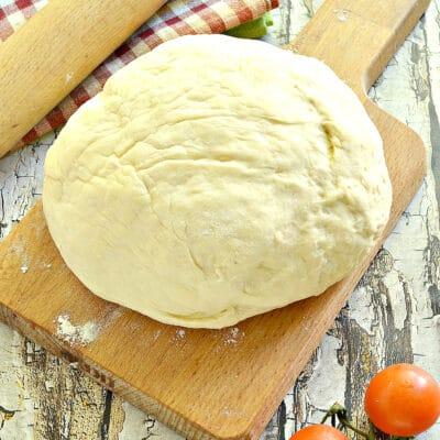 Тесто для пирожков на «живых» дрожжах - рецепт с фото