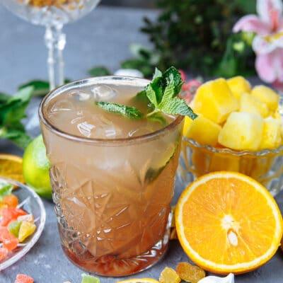 Ананасовый коктейль «Карибы»