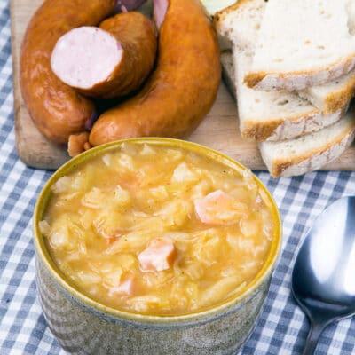 Бигос – квашеная капуста с колбаской