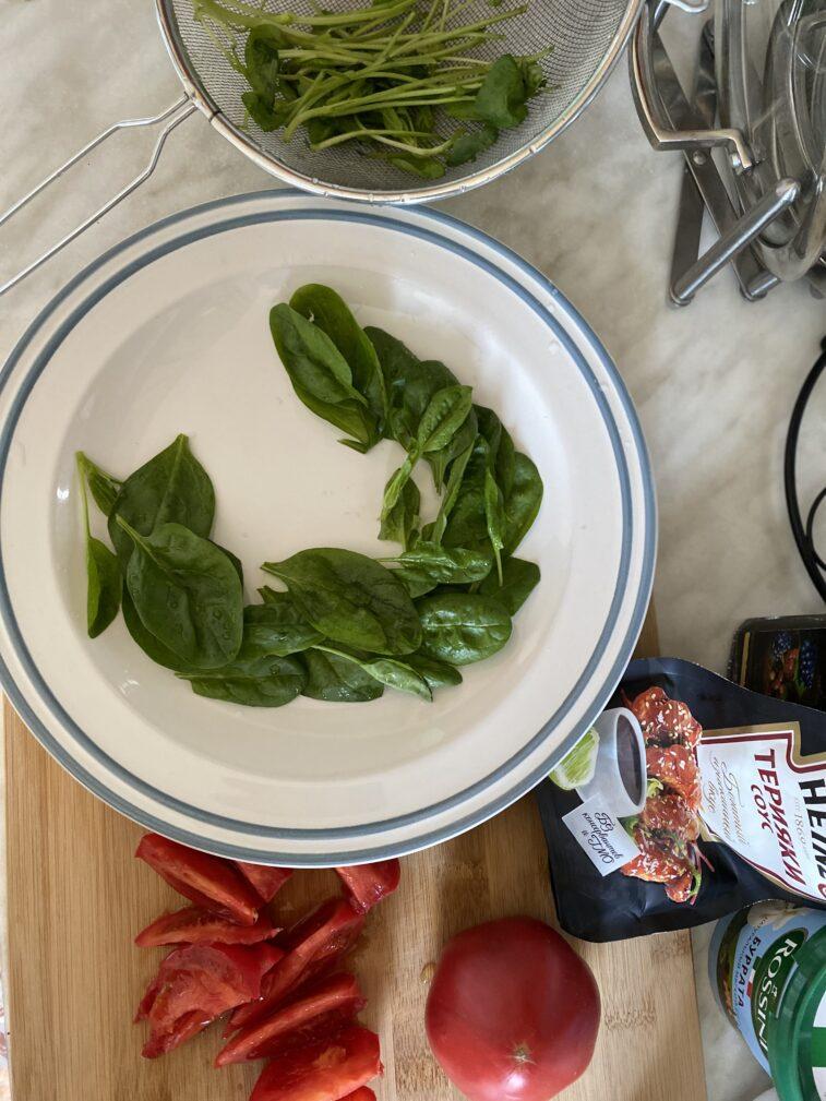 Фото рецепта - Салат с бурратой - шаг 4