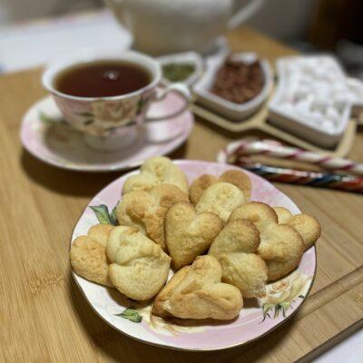 Печенье песочное на молоке - рецепт с фото