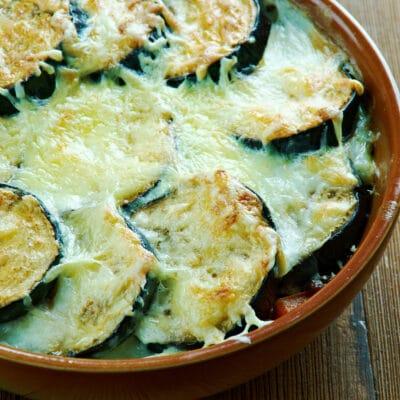 Греческая овощная мусака с чечевицей - рецепт с фото