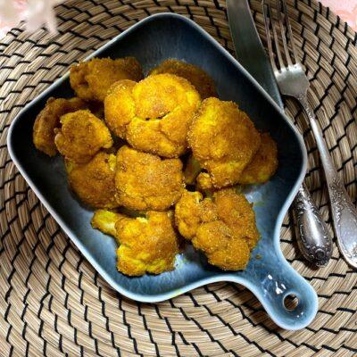 Цветная капуста в панировке - рецепт с фото
