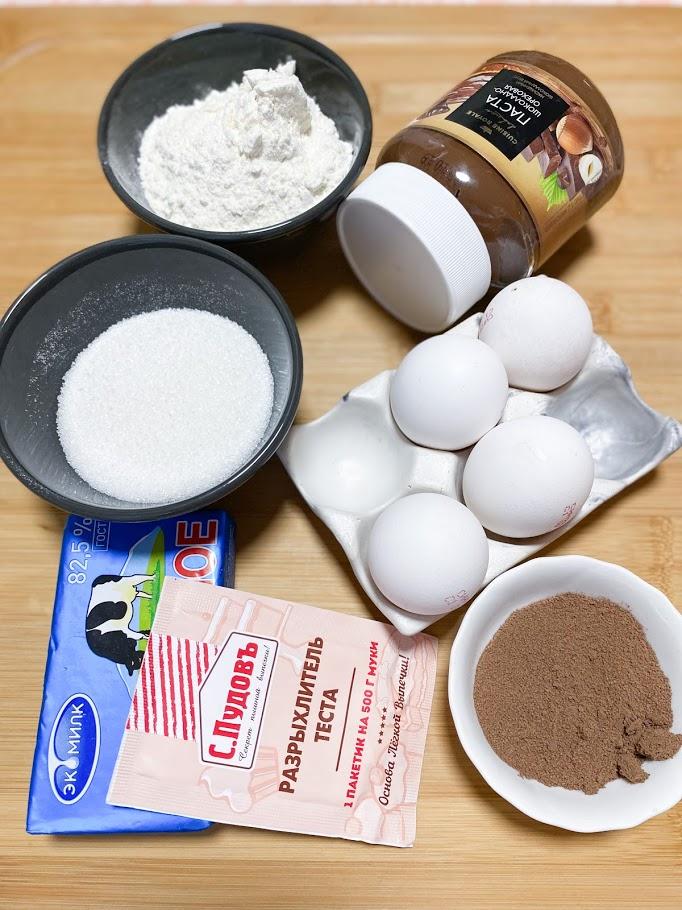 Фото рецепта - Шоколадные маффины - шаг 1