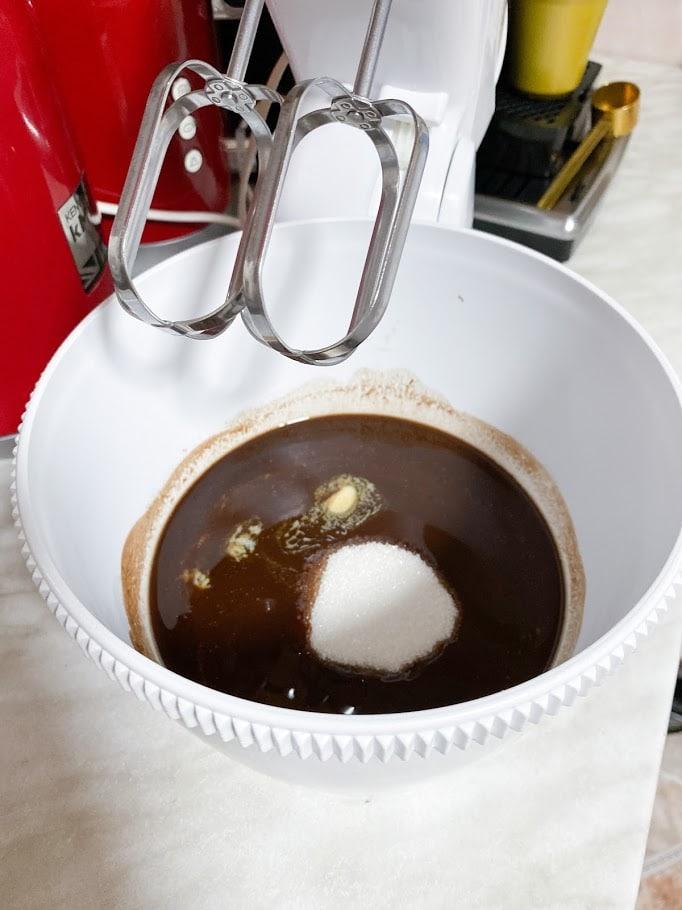 Фото рецепта - Шоколадные маффины - шаг 4