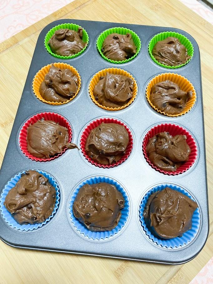 Фото рецепта - Шоколадные маффины - шаг 10