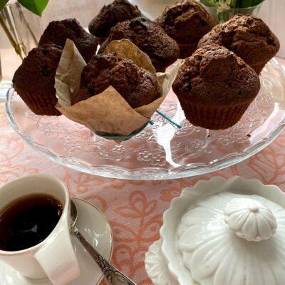 Шоколадные маффины - рецепт с фото