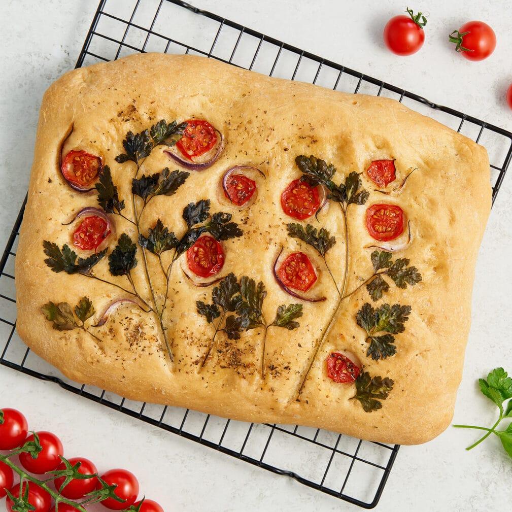 Фото рецепта - Итальянская фокачча - шаг 10