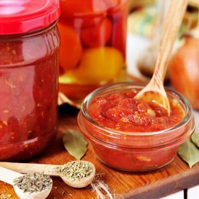 Консервированный томатный соус Маринара
