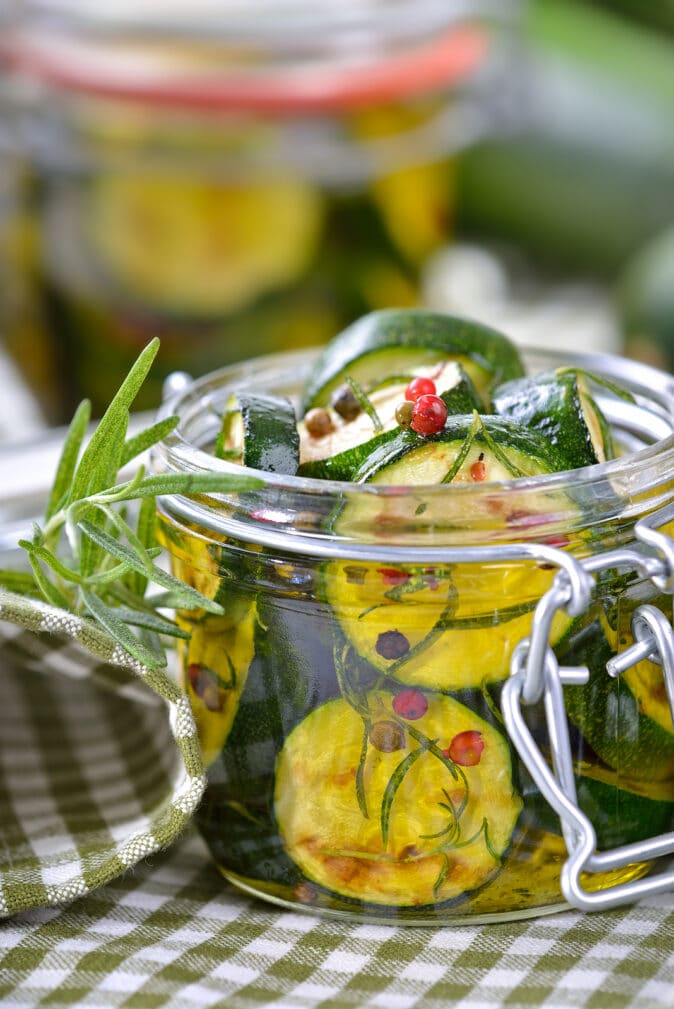 Фото рецепта - Маринованные жареные цукини (зимний салат) - шаг 9
