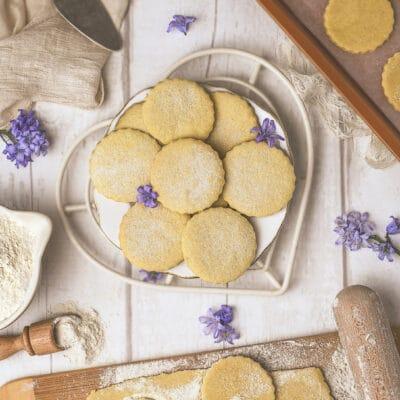 Песочное тесто для печенья (без яиц) - рецепт с фото