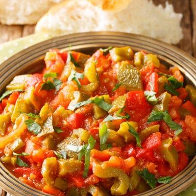 Салат из болгарского перца - рецепт с фото