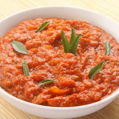 Томатно-чесночный соус - рецепт с фото