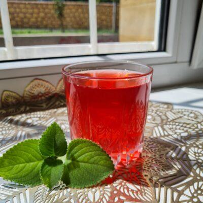 Компот из замороженных ягод и апельсина - рецепт с фото