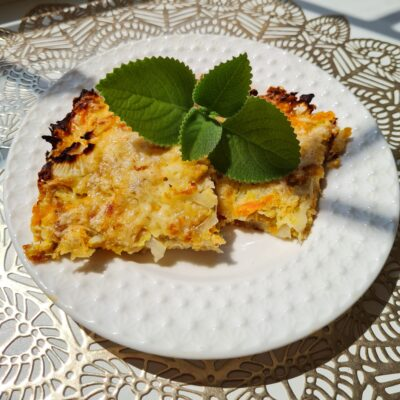 Быстрый пирог с капустой и фаршем - рецепт с фото