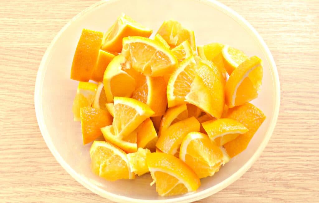 Фото рецепта - Варенье из кабачков с апельсином - шаг 4