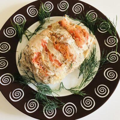 Филе индейки запечённое в фольге - рецепт с фото