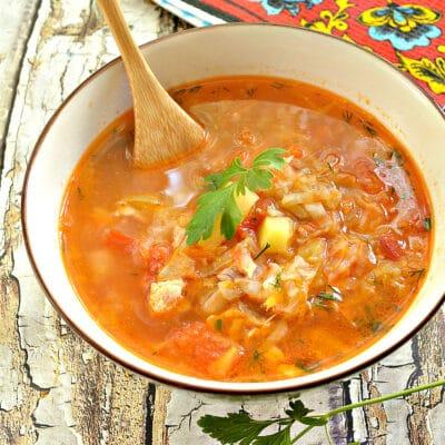 Щи со свининой и молодой капустой - рецепт с фото