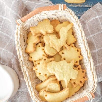 Домашнее песочное печенье - рецепт с фото
