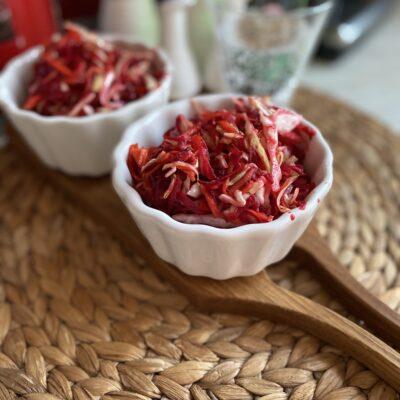 Салат витаминный из овощей - рецепт с фото