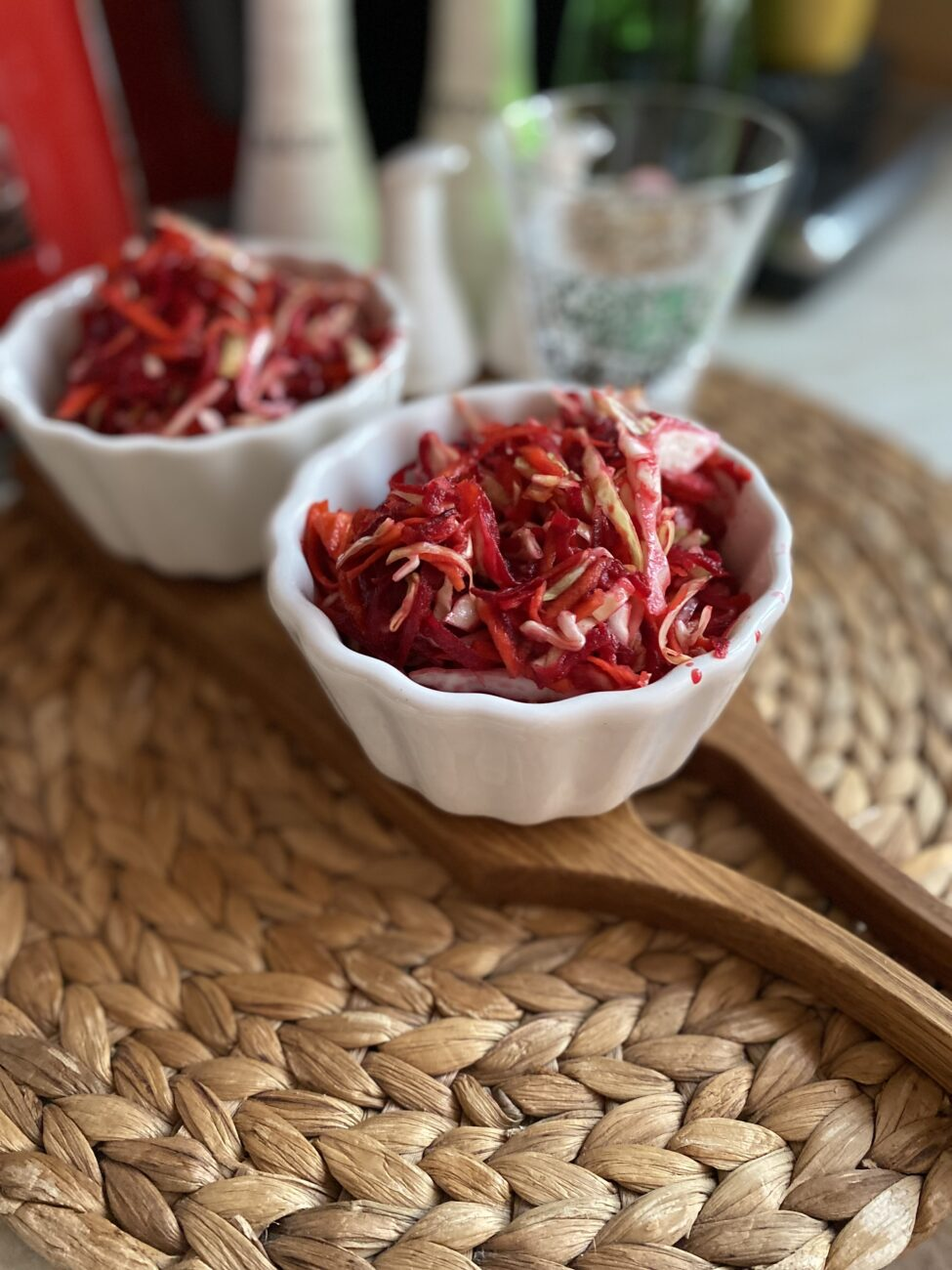 Салат витаминный из овощей