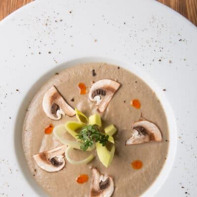 Грибной суп на сливочном сыре