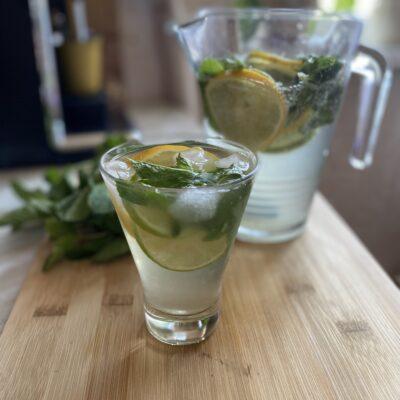Безалкогольный мохито - рецепт с фото