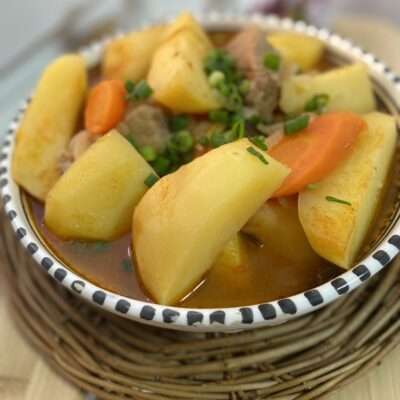 Домлама — мясо с овощами - рецепт с фото