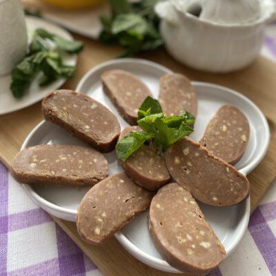 Сладкая колбаска, как в детстве - рецепт с фото