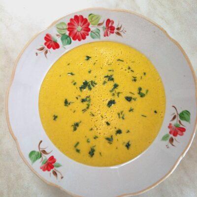 Гороховый крем-суп с цуккини - рецепт с фото