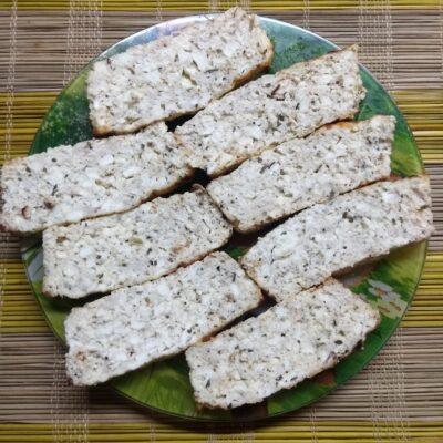 Мясной хлеб с творогом и итальянскими травами - рецепт с фото