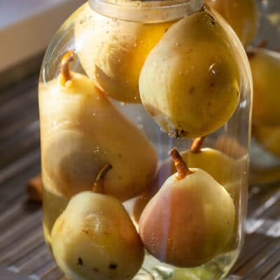 Компот из груш на зиму - рецепт с фото